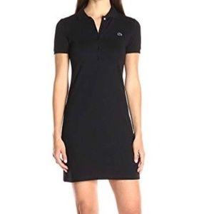 Lacoste Polo Shirt Dress Sz 40 (M)
